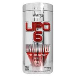 Nutrex Lipo 6 UNLIMITED 120 (caps)