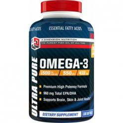 4DN Ultra Pure Omega-3 (100 softgels)