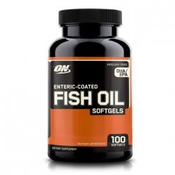 Optimum Nutrition Enteric Coated Fish Oil Softgels (100 капс)