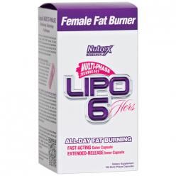 Nutrex Lipo-6 Hers multi-phase (120 капс)