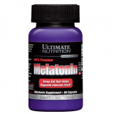 Ultimate Nutrition Melatonin (60 капс) 3 mg 100% Premium